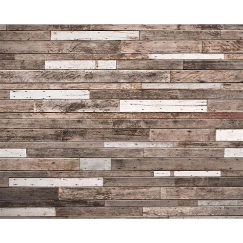 home depot wall murals wooden planks wall mural wr50552 the home depot