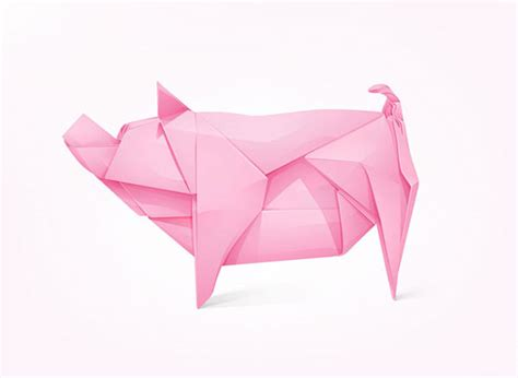 origami bank 20 amazing low poly logo designs web graphic design