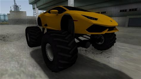 GTA San Andreas 2014 Lamborghini Huracan Monster Truck Mod