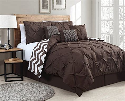 brown and white comforter sets top 10 rich chocolate brown comforters for a bedroom