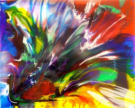 pouring acrylic paint on canvas 17 best images about liquitex pouring medium on