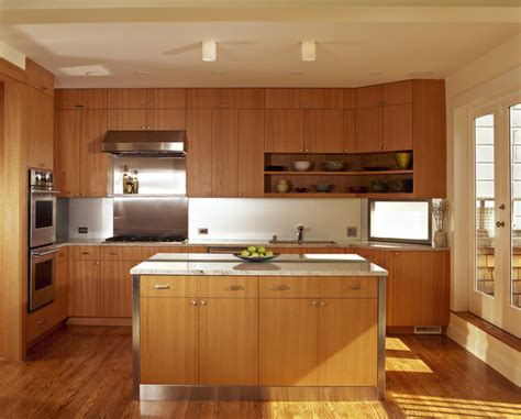 Ideas For Kitchen Diners honey oak cabinets