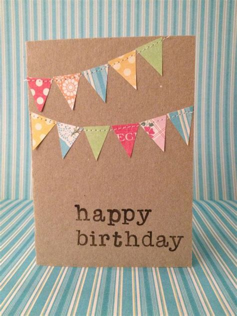 how to make diy birthday cards 25 best ideas about diy birthday cards on