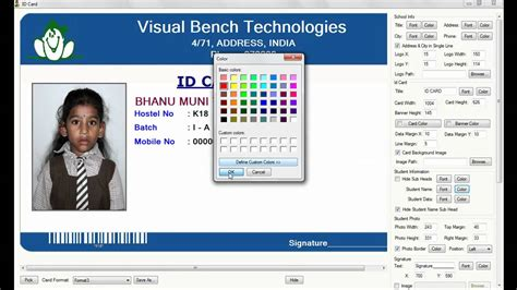 how to make id cards at home digital school id card preparation
