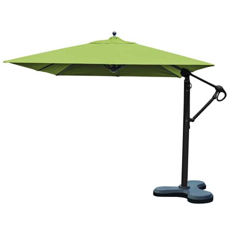 patio cantilever umbrella outdoor umbrellas 10x10 square galtech cantilever patio