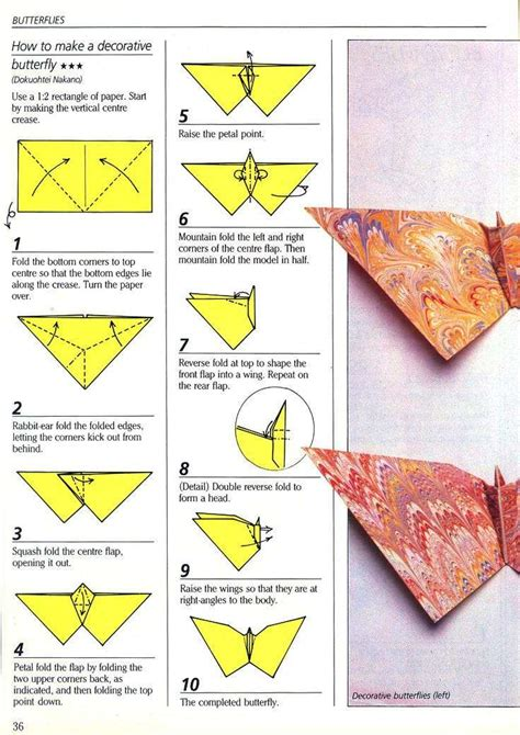 step by step origami butterfly paper butterfly erik kenneway