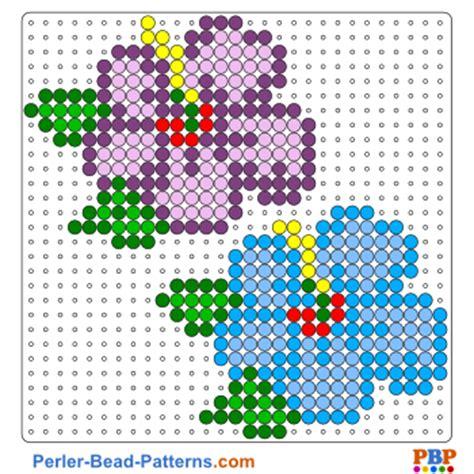 perler bead flower patterns perler on perler bead patterns hama