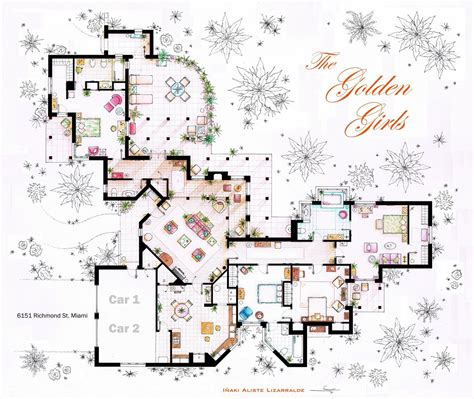 floor plans of tv show houses xavicuevas floor plans of homes from tv shows