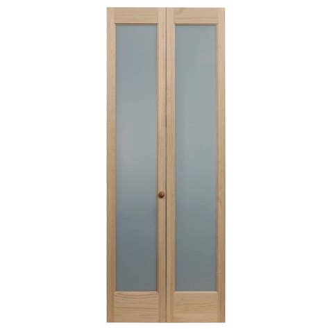 24 x 80 interior door pinecroft 24 in x 80 in frosted glass pine interior