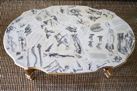 diy decoupage table mr kate diy home book decoupaged coffee table