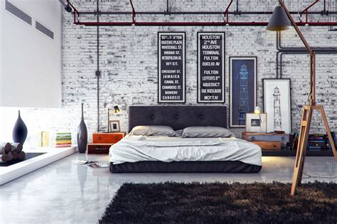industrial bedroom design ideas industrial bedroom 1 interior design ideas