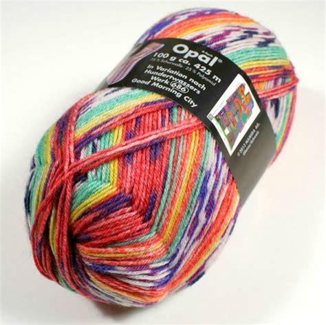 opal knitting yarn 2pieces lot opal sock yarn 75 wool 25 polyamide