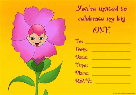 i want to make a birthday card 20 1st birthday invitations free printable and