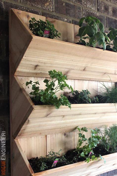 planter walls in gardens cedar wall planter free diy plans rogue engineer