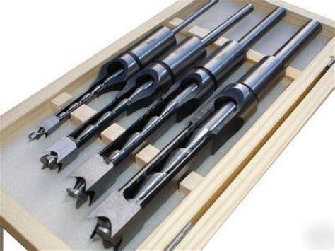 woodworking tool set 4 mortising chisel set morticer woodworking tool