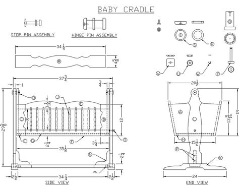 cradle woodworking plans baby cradle woodworking plans for barbara