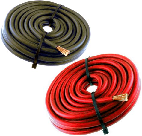 with and wire 8 wire 40 ft awg 20 ft 20 black cable