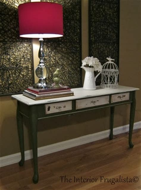 painted sofa tables distressed milk painted sofa table the interior
