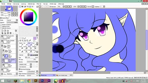 paint tool sai 2015 mizune wip i got paint tool sai by subii on deviantart