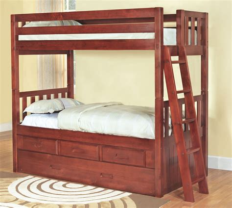 merlot bunk bed discovery world furniture merlot
