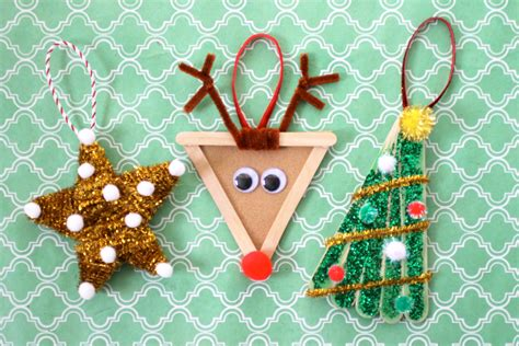 craft ideas for ornaments diy ornaments kid ornaments ornament crafts for