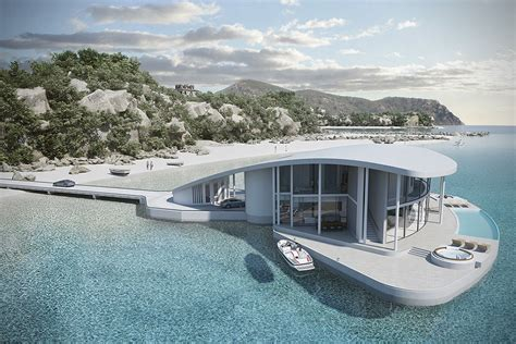 floating houses stingray floating house by tangram 3ds hiconsumption