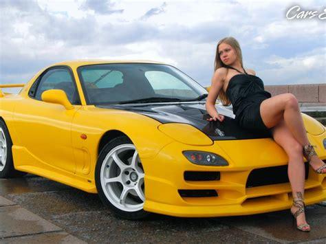 Car Wallpaper Ru by спорткары Mazda девушки автомобили машины авто обои