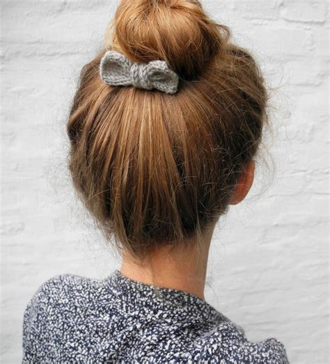 knits hair 25 diy hair accessories to make now