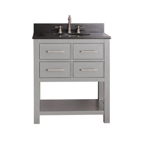 30 bathroom vanity with sink 30 inch single sink bathroom vanity in chilled gray