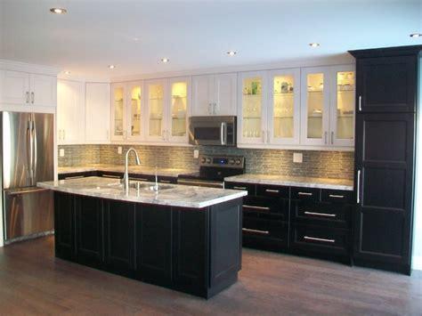 most popular ikea kitchen cabinets ikea kitchens ramsjo white and ramsjo black brown