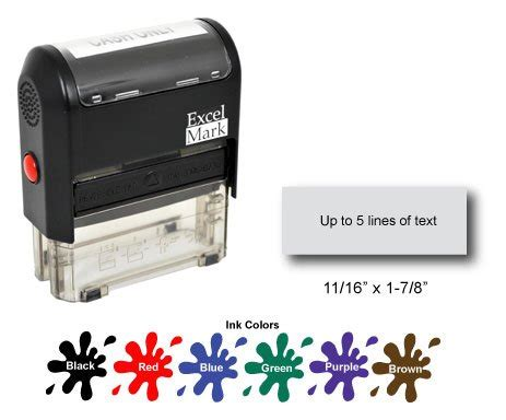 self ink rubber st price order self inking rubber st with up to 5 lines of