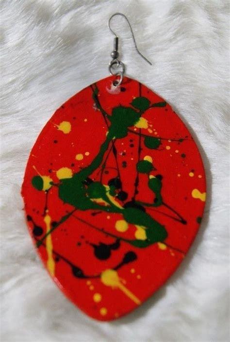 paper craft earrings bob marley earrings 183 a dangle earring 183 jewelry