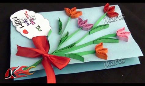 how to make s day greeting cards diy paper quilling greeting card for s day