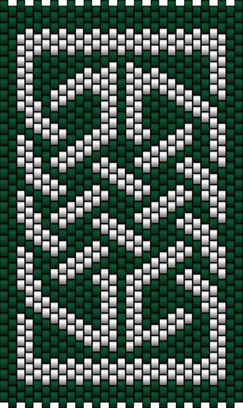 celtic bead patterns celtic knot 1 peyote stitch sova enterprises