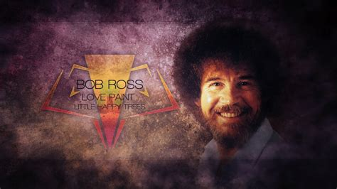bob ross painting in photoshop the of painting