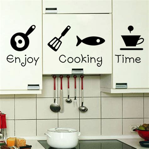 stickers for kitchen walls new design creative diy wall stickers kitchen decal home