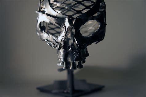 metal skull scrap metal skull by devin francisco on deviantart