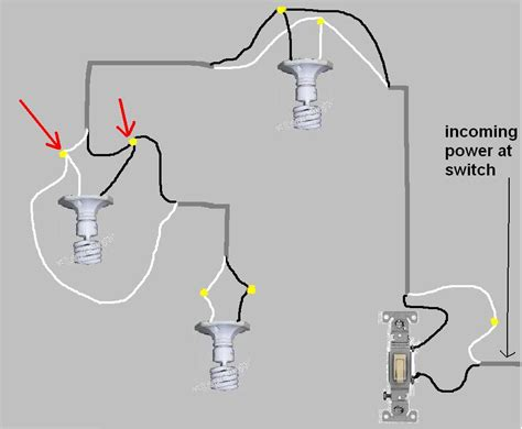 tree light wiring light switch wiring diagram besides three way three way