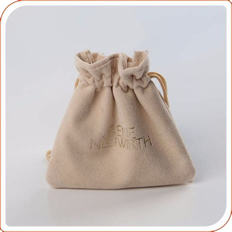 how to make a jewelry pouch drawstring custom printed fabric jewelry velvet cotton drawstring