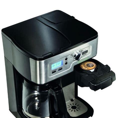 Best Two Way Coffee Maker For Under $100: Hamilton Beach 2 Way FlexBrew Coffemaker   Coffee Gear