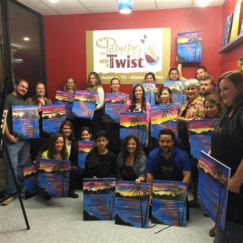 paint with a twist tx painting with a twist in san antonio tx 210 465 1