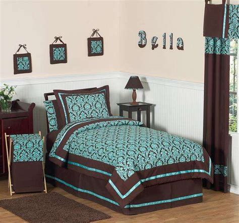 turquoise and brown comforter sets chocolate brown and turquoise bedding bedroom ideas pictures