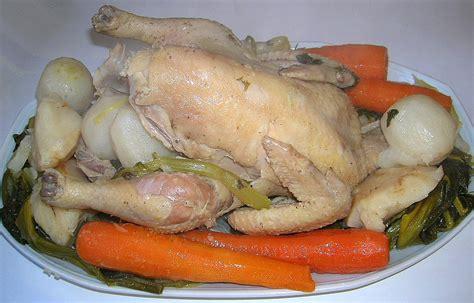 la recette de la poule au pot