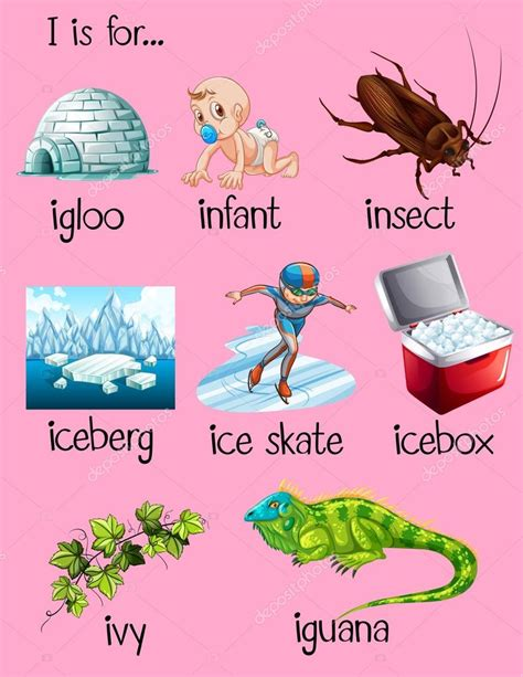 how many letters do you start with in scrabble many words begin with letter i stock vector