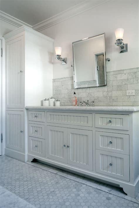 beadboard bathroom vanity beadboard sink vanity transitional bathroom jwt
