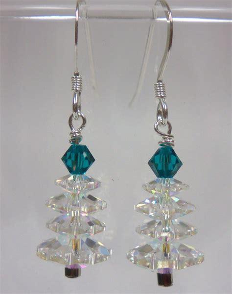 how to make swarovski jewelry jewelry kit swarovski tree earrings 15703ct