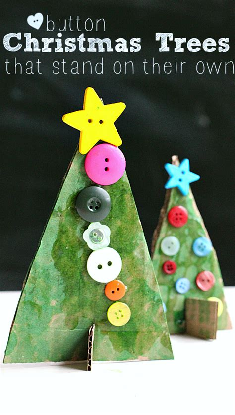 tree preschool craft button tree crafts no time for flash cards