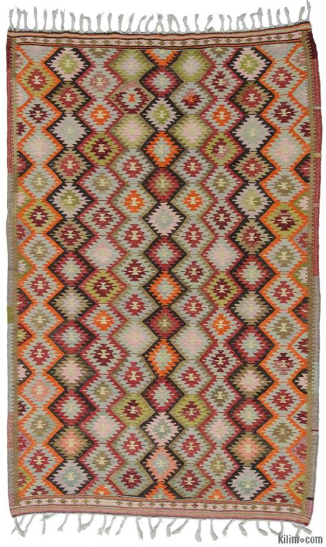 kilim rug k0009719 multicolor vintage antalya kilim rug