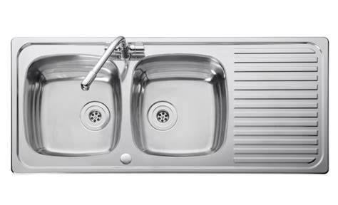 2 kitchen sink leisure linear lr1160db 2 0 bowl 1th stainless steel
