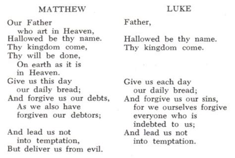 prayer meaning the lord s prayer